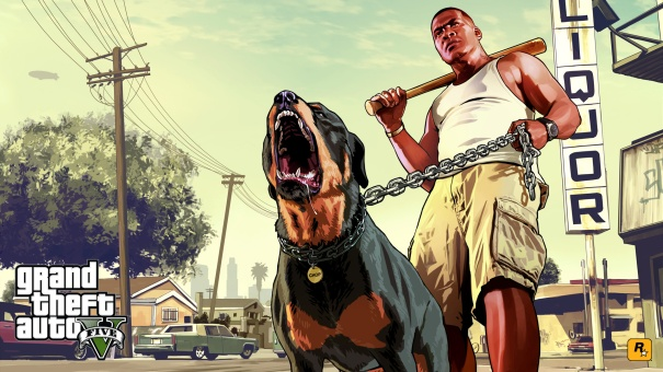 Franklin-Chop-GTA-V-Wallpaper-HD